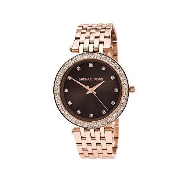 マイケルコース 時計 ウォッチ 腕時計 レディース 女性用 MK3217 Michael Kors Women's Darci MK3217 Rock Stainless-Steel Quartz Watch