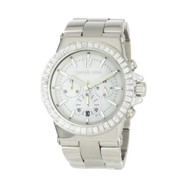 マイケルコース 時計 ウォッチ 腕時計 レディース 女性用 MK5411 Michael Kors Women's MK5411 Dylan Glitz Chronograph White MOP Dial Watch