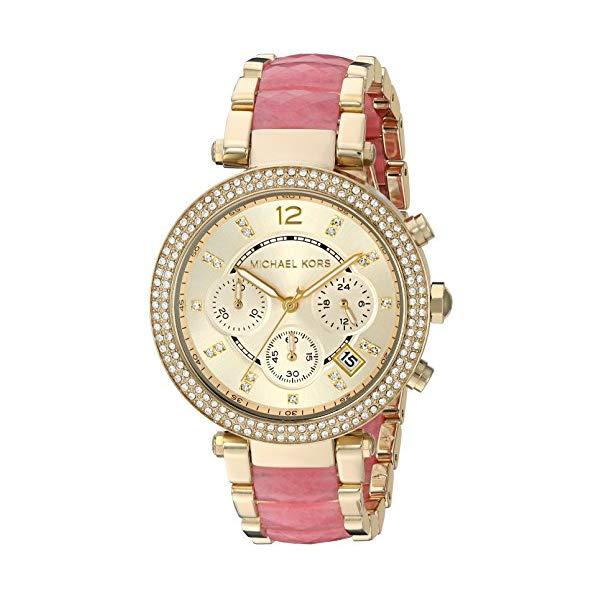 マイケルコース 時計 ウォッチ 腕時計 レディース 女性用 MK6363 Michael Kors Women's Parker Gold-Tone Watch MK6363