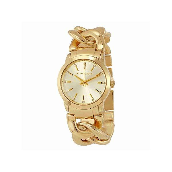 マイケルコース 時計 ウォッチ 腕時計 レディース 女性用 MK3608 Michael Kors Women's MK3608 Elena Gold Watch