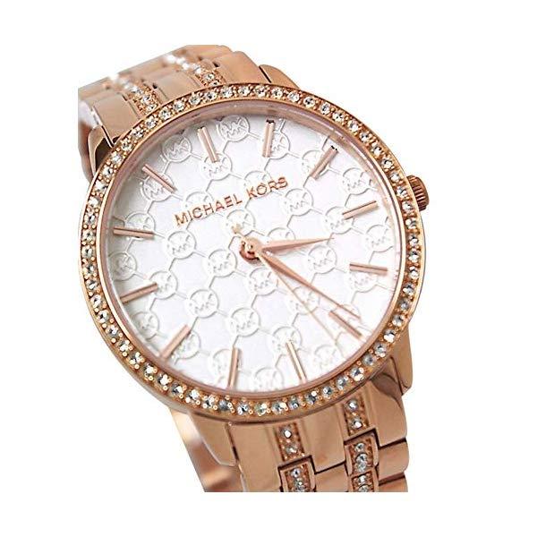 マイケルコース 時計 ウォッチ 腕時計 レディース 女性用 MK3183 Michael Kors Women's MK3183 Nini Rose Gold-Tone Stainless Steel Watch