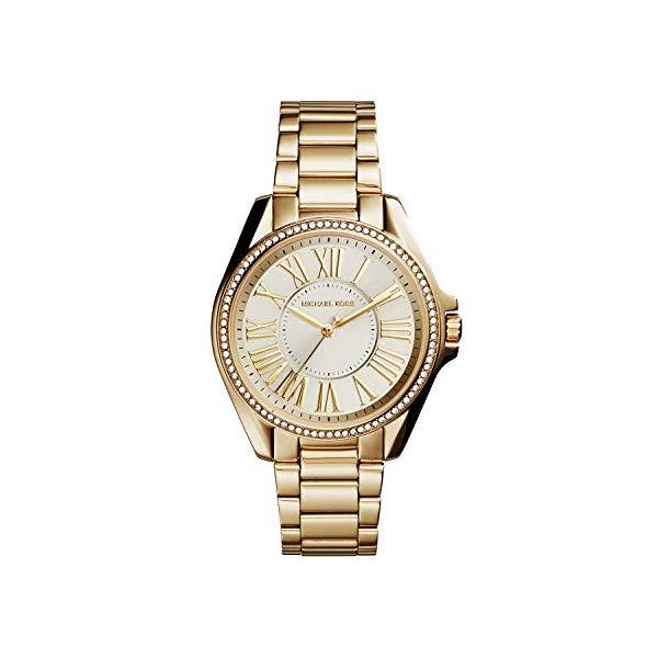 マイケルコース 時計 ウォッチ 腕時計 レディース 女性用 MK6184 Michael Kors Women's Kacie Gold Tone Stainless Steel Watch MK6184