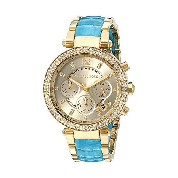 マイケルコース 時計 ウォッチ 腕時計 レディース 女性用 MK6364 Michael Kors Women's Parker Gold-Tone Watch MK6364