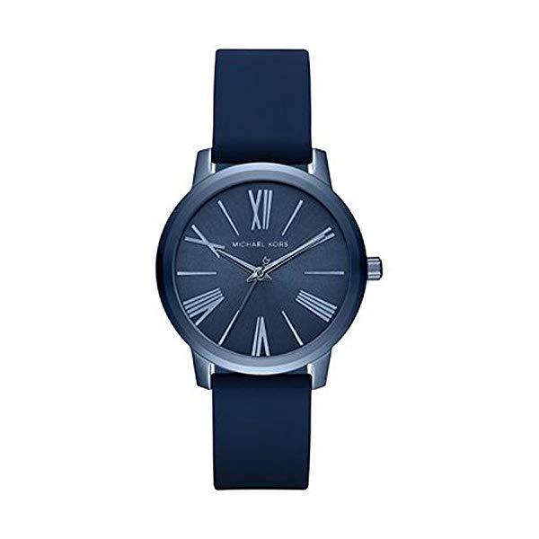 マイケルコース 時計 ウォッチ 腕時計 レディース 女性用 MK2639 Michael Kors Women's Hartman Blue Silicone Strap Watch MK2639