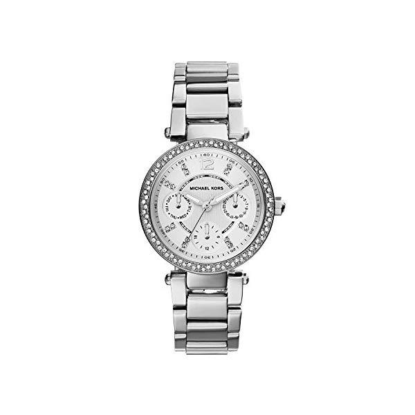 マイケルコース 時計 ウォッチ 腕時計 レディース 女性用 MK5615 Michael Kors Women's MK5615 Parker Silver Watch