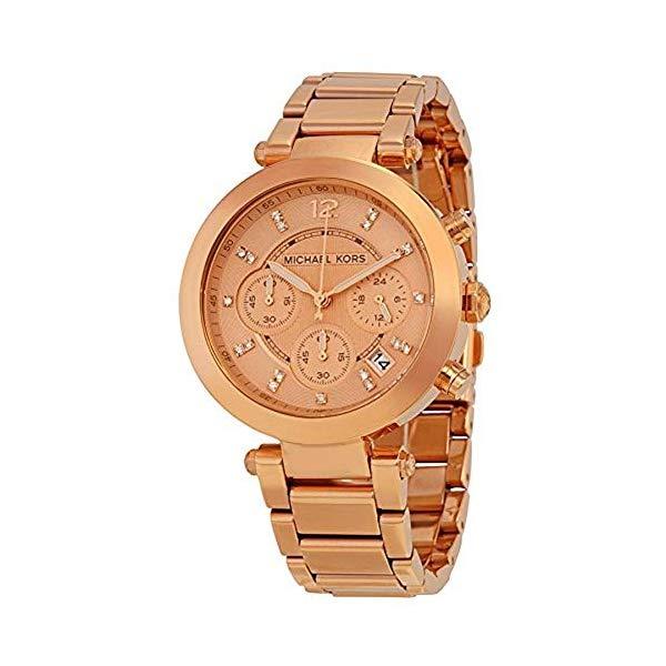 マイケルコース 腕時計 Michael Kors MK5277 ウォッチ Michael Kors MK5277 Rose Gold Tone Chronograph Watch