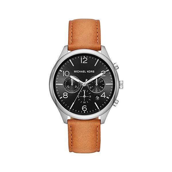 マイケルコース 腕時計 Michael Kors MK8661 ウォッチ メンズ 男性用 Michael Kors Mens Chronograph Quartz Watch with Leather Strap MK8661