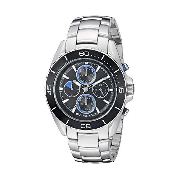 マイケルコース 腕時計 Michael Kors MK8462 ウォッチ メンズ 男性用 Michael Kors Men's Jetmaster Black Watch MK8462