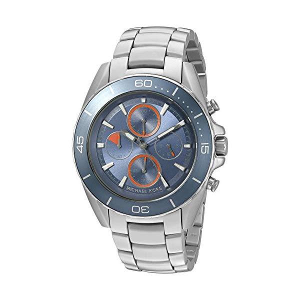 マイケルコース 腕時計 Michael Kors MK8484 ウォッチ メンズ 男性用 Michael Kors Men's Jetmaster Silver-Tone Watch MK8484