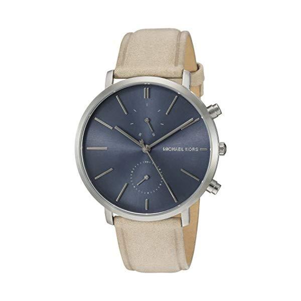 マイケルコース 腕時計 Michael Kors MK8540 ウォッチ Michael Kors Jaryn Stainless Steel and Leather Chronograph Watch