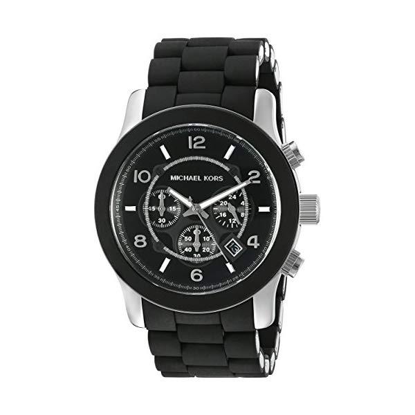 マイケルコース 腕時計 Michael Kors MK8107 ウォッチ メンズ 男性用 Michael Kors Men's Runway Black Watch MK8107