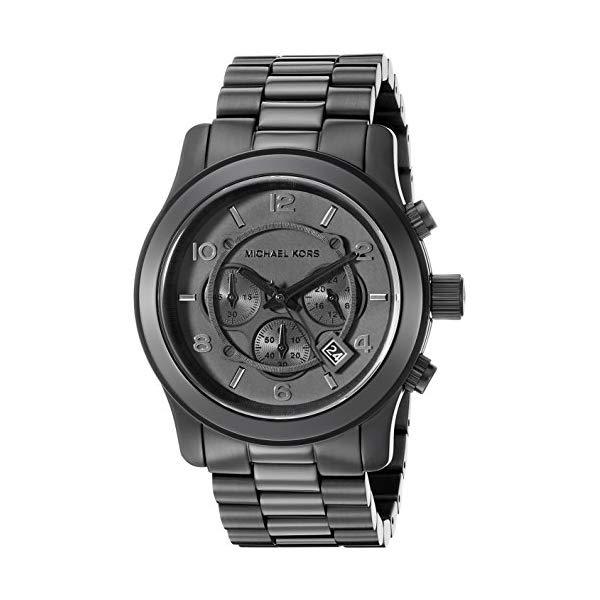 マイケルコース 腕時計 Michael Kors MK8157 ウォッチ メンズ 男性用 Michael Kors Men's Black Tonal Runway Watch