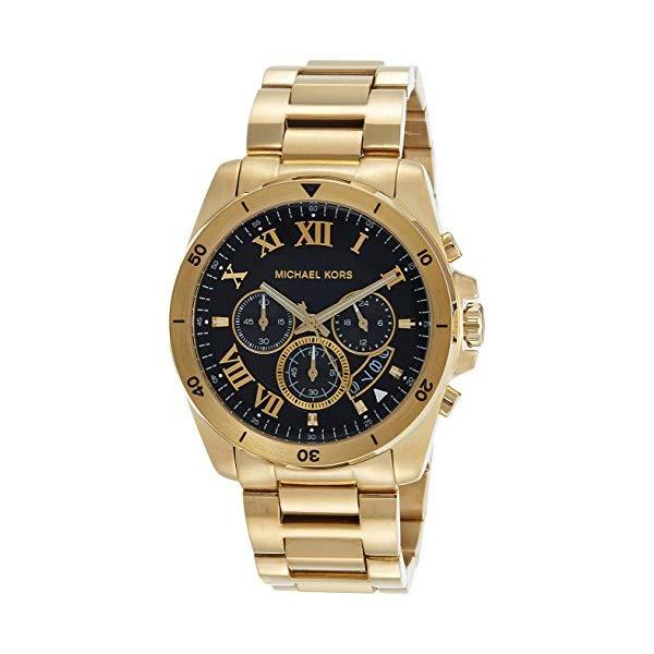 マイケルコース 腕時計 Michael Kors MK8481 ウォッチ メンズ 男性用 Michael Kors Men's 44mm Brecken Goldtone Stainless Steel Bracelet Watch