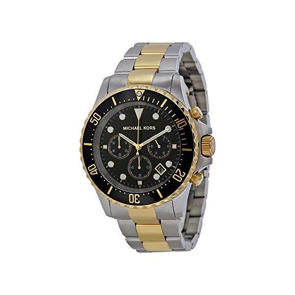 マイケルコース 腕時計 Michael Kors MK8311 ウォッチ メンズ 男性用 Michael Kors Men's MK8311 Silver Tone/Black Stainless Steel Watch