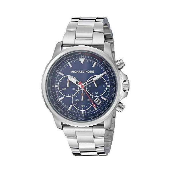 マイケルコース 腕時計 Michael Kors MK8641 ウォッチ メンズ 男性用 Michael Kors Men's Theroux Analog-Quartz Watch with Stainless-Steel Strap, Silver, 20.8 (Model: MK8641)
