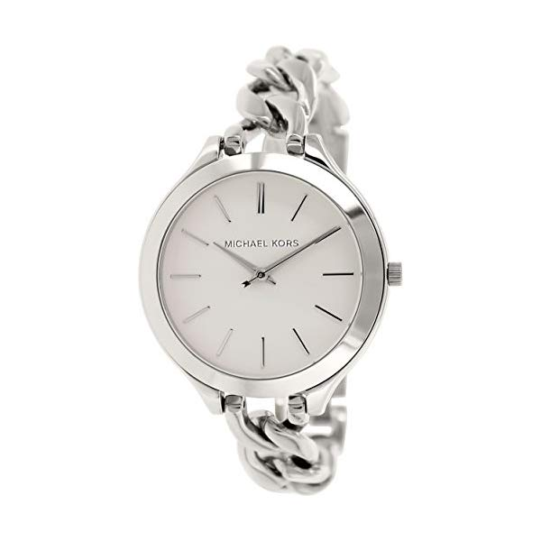 マイケルコース 腕時計 Michael Kors MK3279 ウォッチ レディース 女性用 Michael Kors Slim Runway White Dial Stainless Steel Ladies Watch MK3279