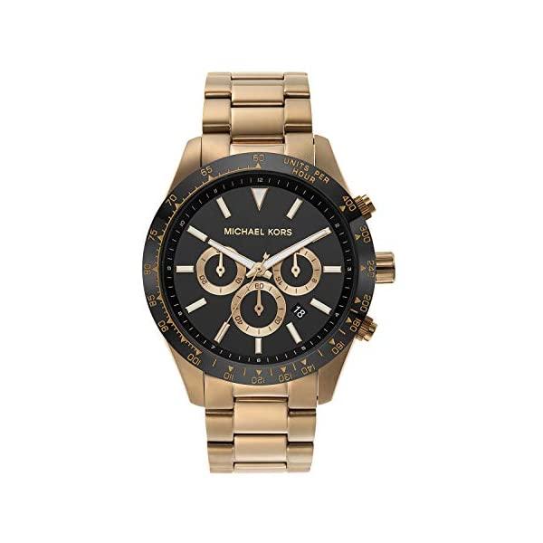 マイケルコース 腕時計 ウォッチ 男性用 メンズ 販売期間 限定のお得なタイムセール Michael Watch Steel 『4年保証』 Kors Stainless Layton