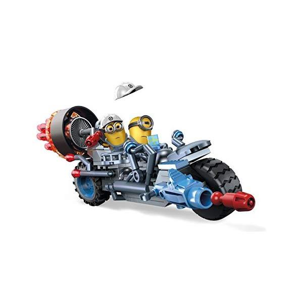 メガブロック ミニオン ミニオンズ グッズ ブロック Mega Bloks Despicable Me Motorcycle Mayhem Building Kit