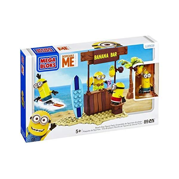 メガブロック ミニオン ミニオンズ グッズ ブロック Mega Bloks Despicable Me Beach Day
