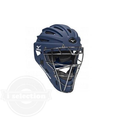 【USAミズノ サムライG4 ホッケー型キャッチャーマスク ユース 子供用 阿部モデル Mizuno G4 Youth Samurai Catcher's Helmet 6.5-7.25-Inch】