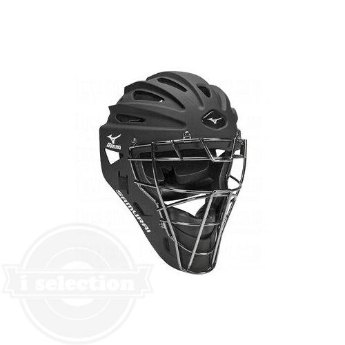 【USAミズノ サムライG4 ホッケー型キャッチャーマスク ユース 子供用 阿部モデル ブラック Mizuno G4 Youth Samurai Catcher's Helmet 6.5-7.25-Inch Black】