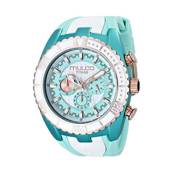 マルコ 腕時計 MULCO MW5-1836-433 ユニセックス 男女兼用 ウォッチ MULCO Unisex MW5-1836-433 Titan Wave Analog Display Japanese Quartz Blue Watch
