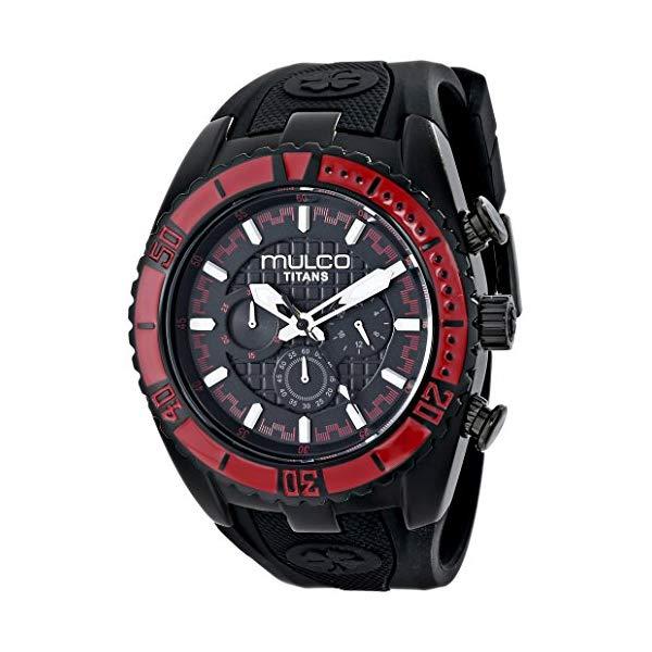 マルコ 腕時計 MULCO MW5-1836-065 ユニセックス 男女兼用 ウォッチ MULCO Unisex MW5-1836-065 Titan Wave Analog Display Japanese Quartz Black Watch