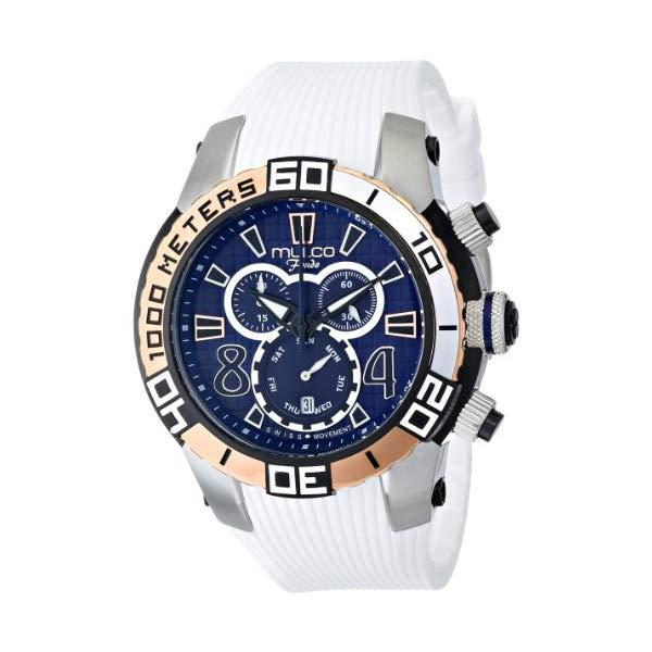 マルコ 腕時計 MULCO MW1-74197-014 ユニセックス 男女兼用 ウォッチ MULCO Unisex MW1-74197-014 Analog Display Swiss Quartz White Watch