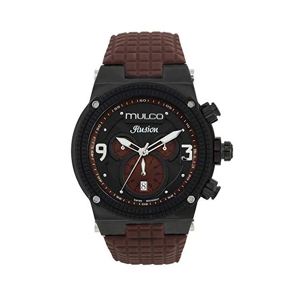 マルコ 腕時計 MULCO MW3-12140-035 ユニセックス 男女兼用 ウォッチ MULCO Unisex Ilusion Analog Display Swiss Quartz Watch - Multifunctional Silicone Band