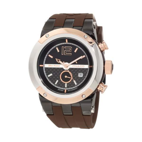 マルコ 腕時計 MULCO MW5-1621-035 ユニセックス 男女兼用 ウォッチ Mulco Unisex Bluemarine Glass Chronograph Swiss Multifunctional Movement Watch