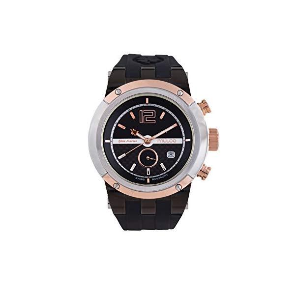 マルコ 腕時計 MULCO MW5-1621-095 ユニセックス 男女兼用 ウォッチ Mulco Unisex Bluemarine Glass Chronograph Swiss Multifunctional Movement Watch