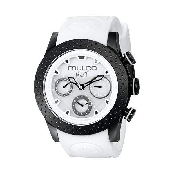 マルコ 腕時計 MULCO MW5-1962-018 ユニセックス 男女兼用 ウォッチ MULCO Unisex MW5-1962-018 Analog Display Swiss Quartz White Watch
