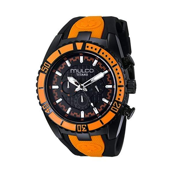 マルコ 腕時計 MULCO MW5-1836-615 ユニセックス 男女兼用 ウォッチ MULCO Unisex MW5-1836-615 Titan Wave Analog Display Japanese Quartz Orange Watch