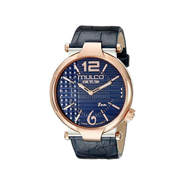 マルコ 腕時計 MULCO MW5-3183-044 メンズ 男性用 ウォッチ MULCO Men's MW5-3183-044 Couture Slim Analog Display Swiss Quartz Blue Watch