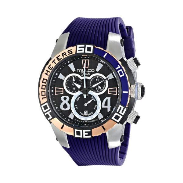 マルコ 腕時計 MULCO MW1-74197-044 ユニセックス 男女兼用 ウォッチ MULCO Unisex MW1-74197-044 Analog Display Swiss Quartz Blue Watch