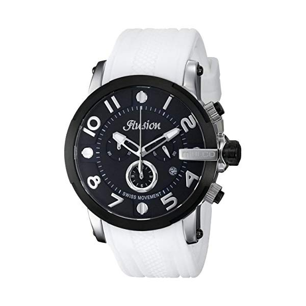 マルコ 腕時計 MULCO MW3-12239-015 ユニセックス 男女兼用 ウォッチ MULCO Unisex Ilusion Roll Analog Display Swiss Quartz Watch - Multifunctional 100% Silicone Band Stainless Steel