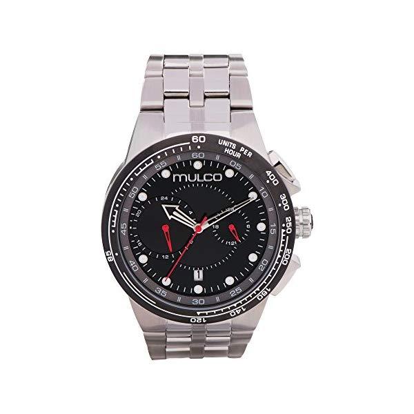 マルコ 腕時計 MULCO MW3-16106-015 メンズ 男性用 ウォッチ Mulco Lyon Quartz Chronograph Movement Men's Watch | Premium Analog Display Watch Band | Water Resistant Stainless Steel Watch
