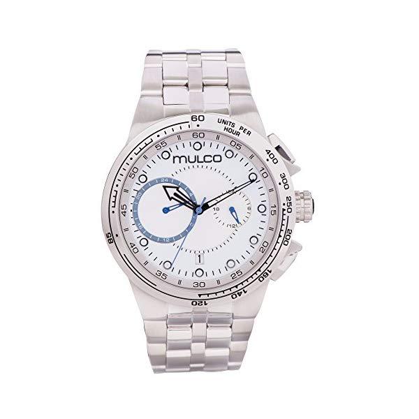 マルコ 腕時計 MULCO MW3-16106-011 メンズ 男性用 ウォッチ Mulco Lyon Quartz Chronograph Movement Men's Watch | Premium Analog Display Watch Band | Water Resistant Stainless Steel Watch