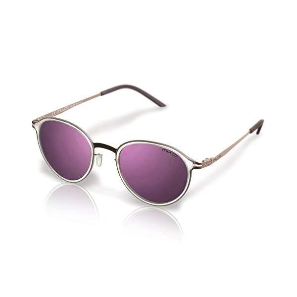 マルコ サングラス MULCO Drama C1 Mulco Drama C1 Transparent Frame / Pink Lens 47 mm Sunglasses