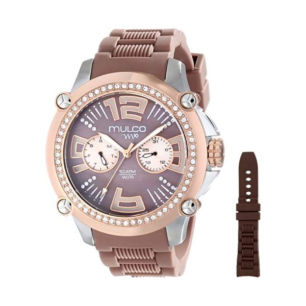 マルコ 腕時計 MULCO MW2-28050S-034 レディース 女性用 ウォッチ MULCO Women's MW2-28050S-034 Analog Display Swiss Quartz Brown Watch