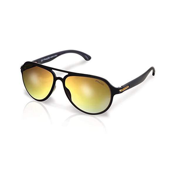 マルコ サングラス MULCO Flow PT C2 Mulco Flow PT C2 Gold Frame / Brown Lens 48 mm Oval Sunglasses