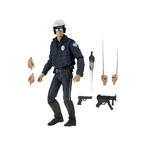 ターミネーター アクション フィギュア 人形 ネカ NECA Ultimate T-1000 Motorcycle Cop Terminator Scale Action Figure, 2-7