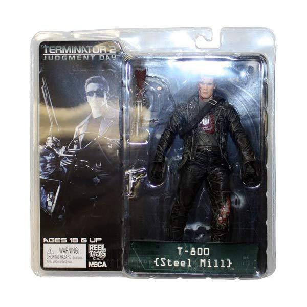 ターミネーター アクション フィギュア 人形 ネカ Terminator 2 Series 3 > T-800 (Steel Mill) Action Figure