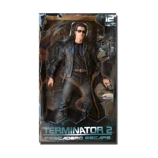 ターミネーター アクション フィギュア 人形 ネカ NECA Terminator 2: Judgement Day 12 Inch Figure T-800 Pescadero Escape