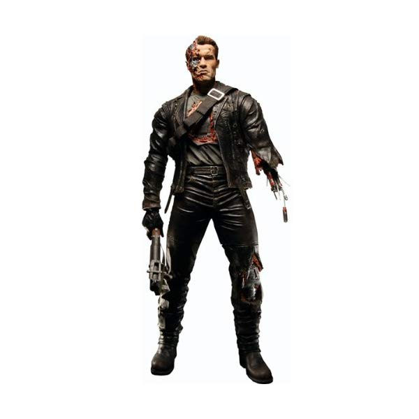 ターミネーター アクション フィギュア 人形 ネカ Terminator Neca 2 12 Inch Figure Battle Damaged T800