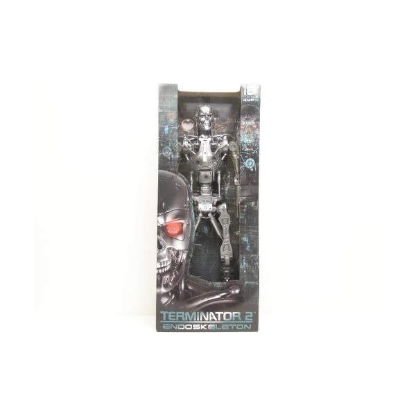 ターミネーター アクション フィギュア 人形 ネカ Reel Toys 18 Inch Light-Up Eyes Poseable Action Figure Terminator 2 T-800 Endoskeleton