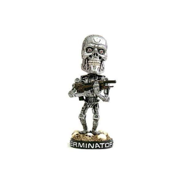ターミネーター アクション フィギュア 人形 ネカ NECA Terminator Endoskeleton Head Knocker
