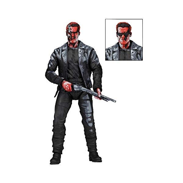 ターミネーター アクション フィギュア 人形 ネカ Terminator 2 / t-800 7-inch action figure-1991 video appearance [Japan regular Edition]
