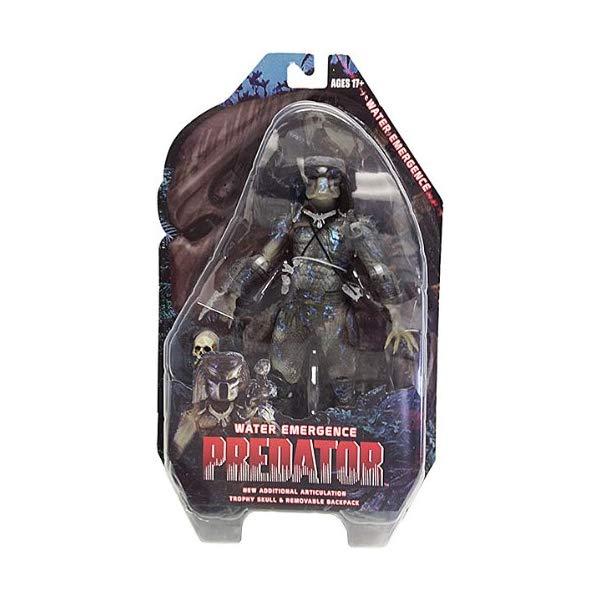 プレデター アクション フィギュア 人形 ネカ Predator Series 9 Water Emergence 7