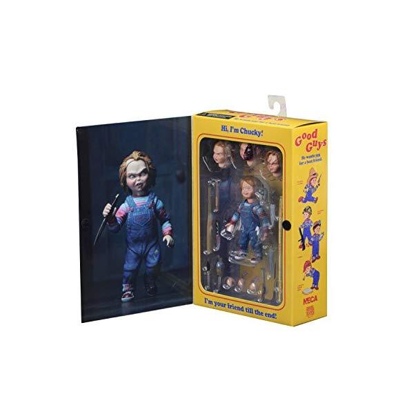 チャイルド プレイ チャッキー アクション フィギュア 人形 ネカ NECA - Chucky 4 inch Scale Action Figure - Ultimate Chucky